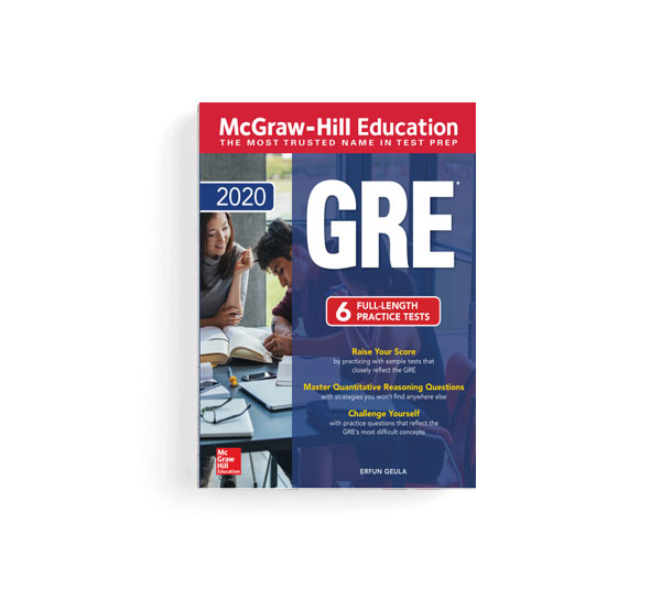کتاب McGraw-Hill Education GRE 2020